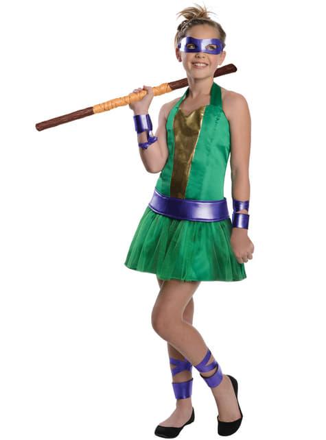 Disfraz de Donatello Las Tortugas Ninja para niña