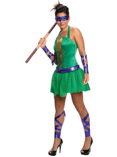 Teenage mutant ninja turtles costume for little girls
