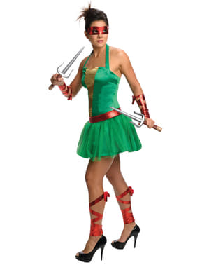 Ninja Turtles Raphael Maskeradklänning Vuxen