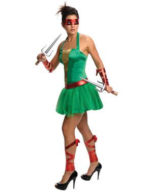 Raphael The Ninja Turtles Kostuum voor vrouw