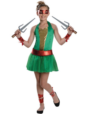 Déguisement RaphaelLes Tortues Ninja fille