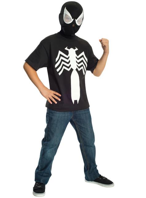 Zestaw Strój Czarny Spiderman dla chłopców Ultimate Spiderman