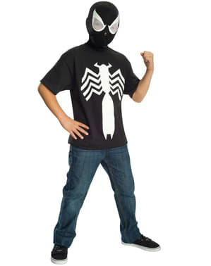 Black Spiderman Ultimate Spiderman Costume Set for Boys