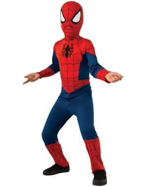 Fato de Ultimate Spiderman clássico para menino