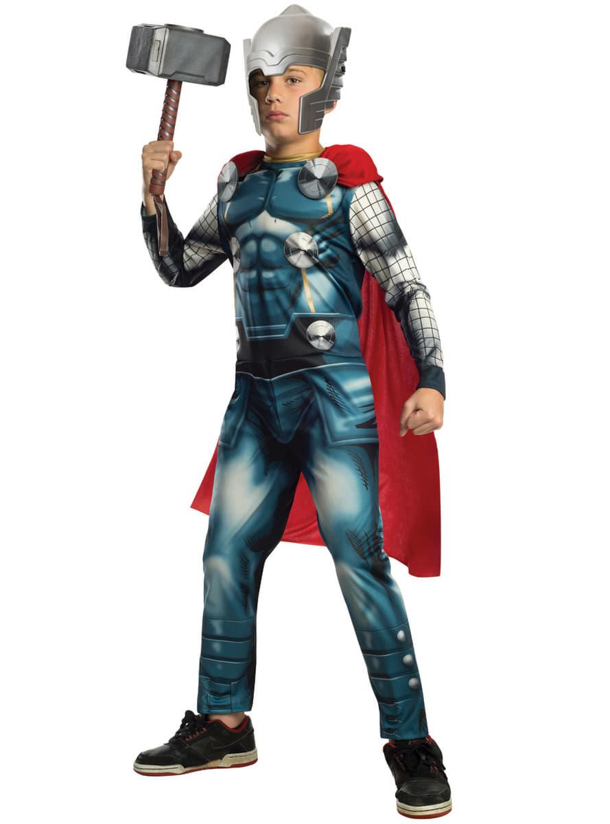 Costume Thor Marvel Avengers Enfant Funidelia