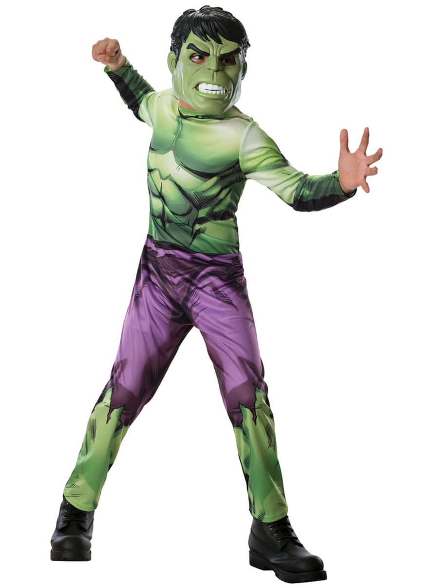 hulk kost m f r jungen marvel die r cher funidelia. Black Bedroom Furniture Sets. Home Design Ideas