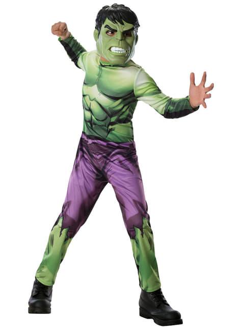 Marvel Avengers Hulk costume for a child