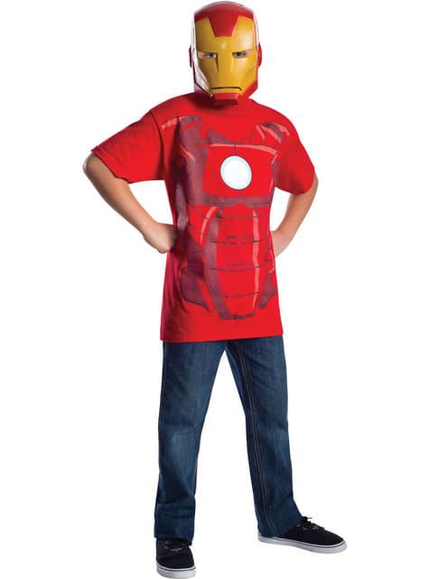 Kit disfraz de Iron Man Marvel para niño