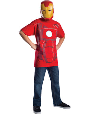 Kit disfraz de Iron Man Marvel para niño