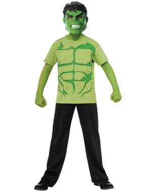 Shirt Hulk Marvel voor jongens