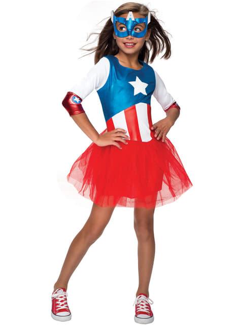 Marvel American Dream costume for a girl