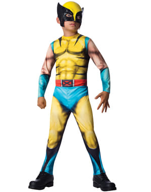 Fato de Wolverine Marvel para menino