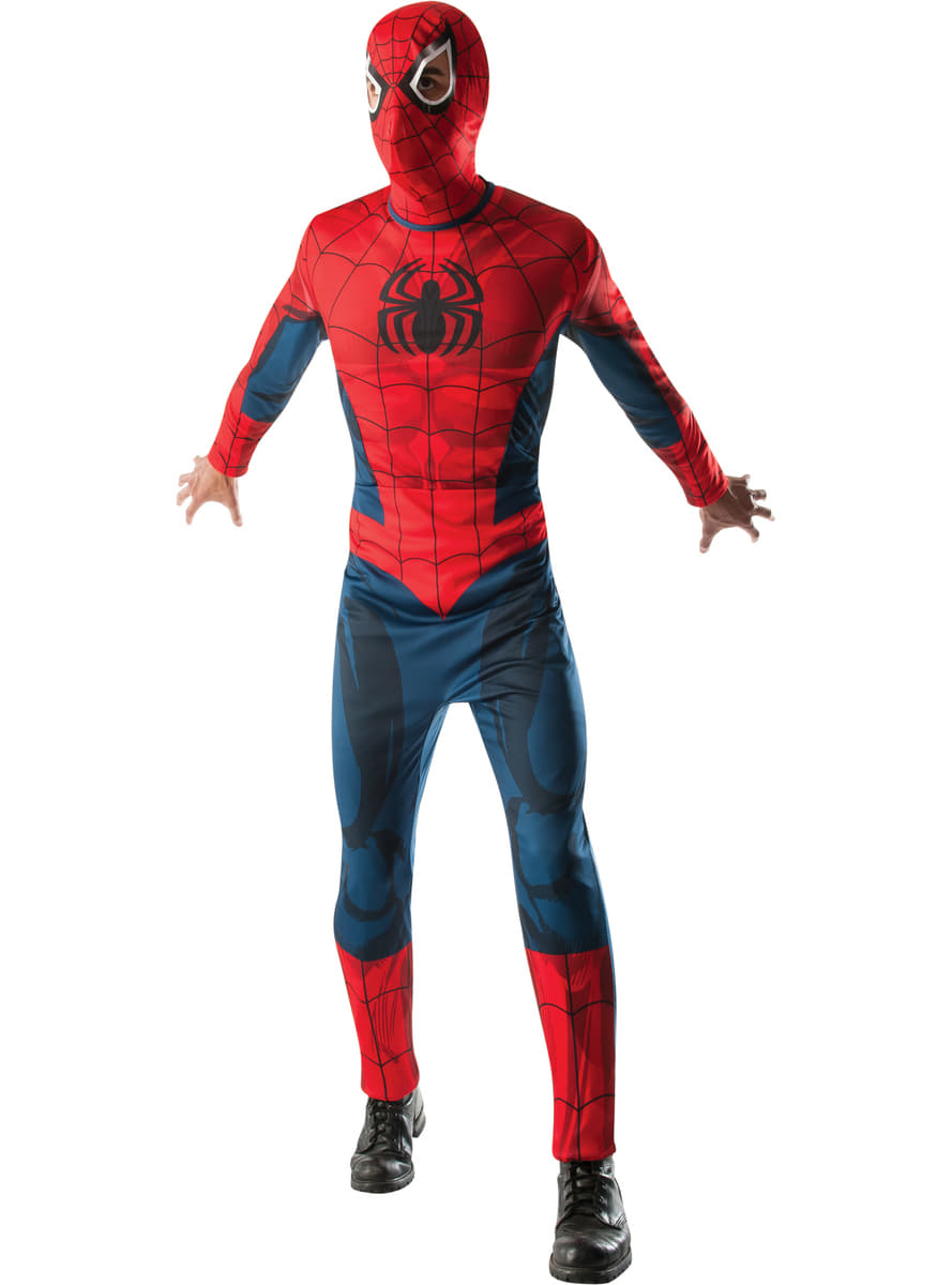 costume spiderman marvel adulte. Black Bedroom Furniture Sets. Home Design Ideas