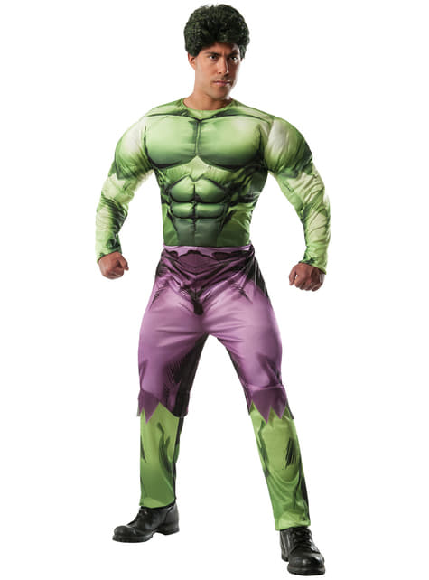 Marvel Hulk deluxe costume for an adult