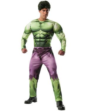 Fato do Incrível Hulk Marvel deluxe para adulto