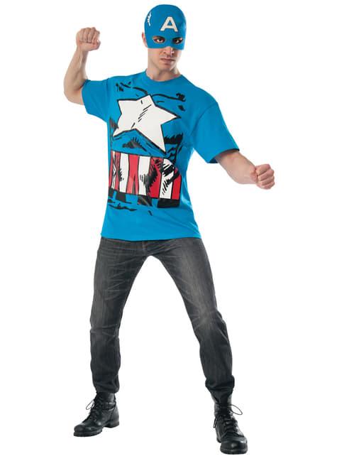 Marvel Captain America Pop T-skjorte for Voksen