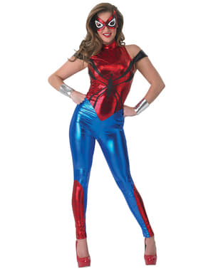 Marvel Spidergirl Kostyme for Dame