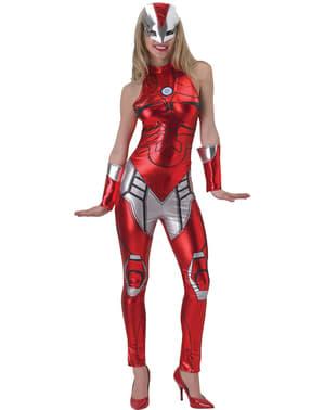 Fato de Rescue Marvel para mulher