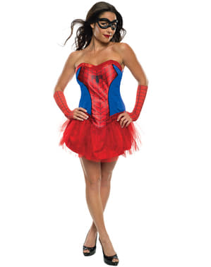 Fato de Spidergirl Marvel classic para mulher