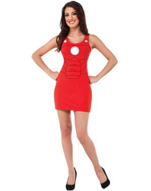 Vestido disfraz Iron Man para mujer
