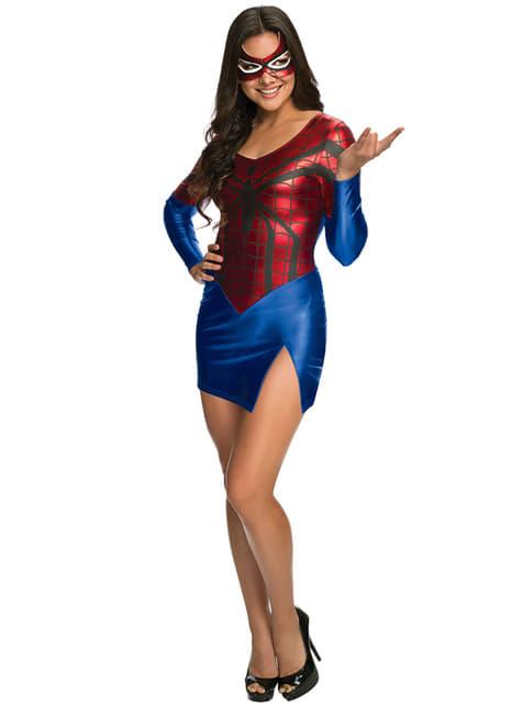 Vestido disfraz Spidergirl Marvel para mujer