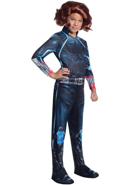 Fato de Viúva Negra do filme Os Vingadores: A Era de Ultron para menina