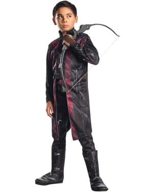 Costum Hawkeye Avengers: Age of Ultron deluxe pentru băiat