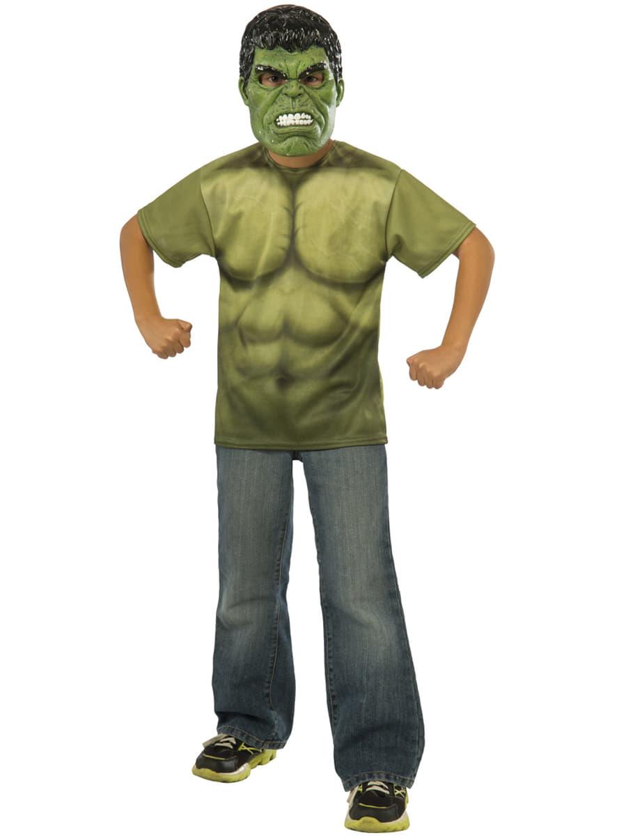 hulk kost m set f r jungen avengers age of ultron funidelia. Black Bedroom Furniture Sets. Home Design Ideas
