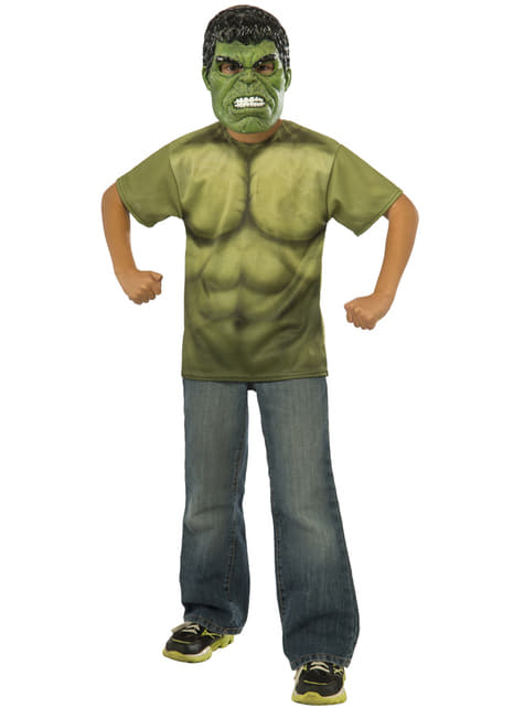 Avengers Age of Ultron Hulk costume kit for a child