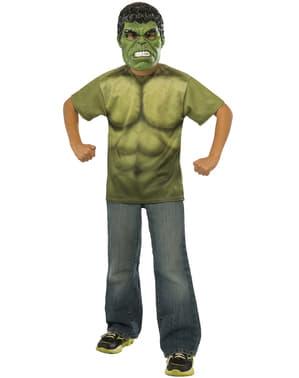 Kit costume Hulk Avengers: Age of Ultron bambino