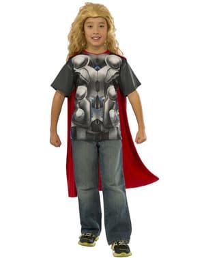 Kit do fato Thor do filme Os Vingadores: A Era de Ultron para menino