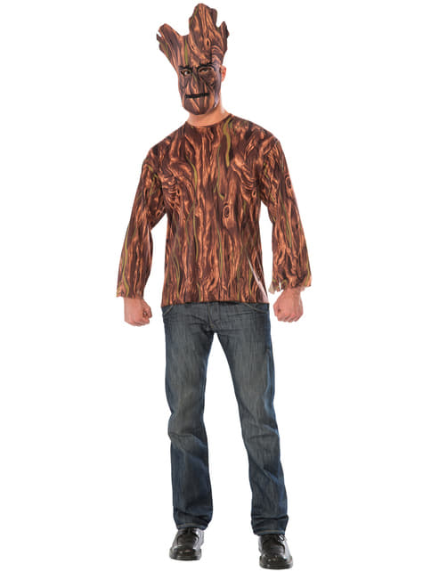 Groot Guardians of the Galaxy costume kit for an adult