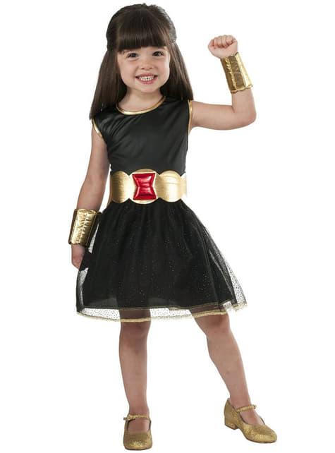 Fato da Viúva Negra Marvel para menina