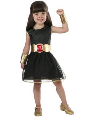Strój Czarna Wdowa Marvel dla dziewczynki