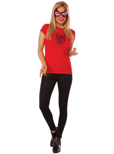 Marvel Spidergirl costume kit for a woman