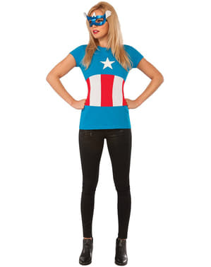 Kit costume American Dream Classic Marvel donna