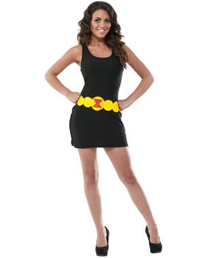 Vestido disfraz de Viuda negra Marvel para mujer