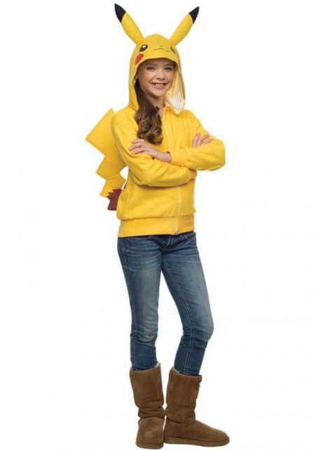 Sudadera de Pikachu Pokémon para adolescente