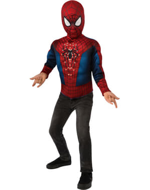 Boys Light-Up Spiderman Costume Kit