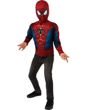 Lysende Spiderman kostyme sett til gutt