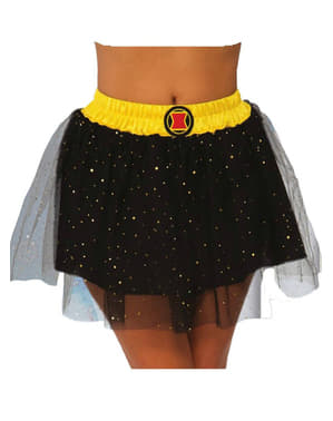 Womens Black Widow Marvel Tutu Skirt