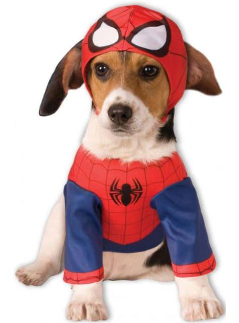 Déguisement de Spiderman pour chien