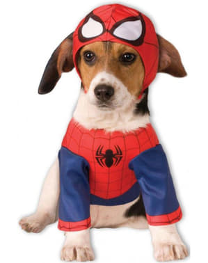 Dogs Spiderman Costume