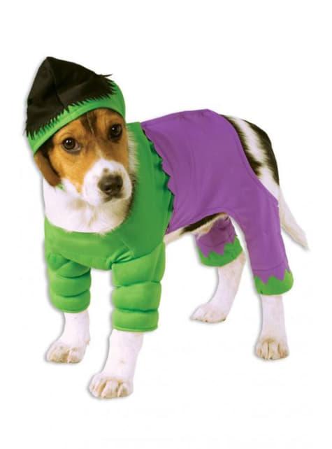 Disfraz de Hulk para perro