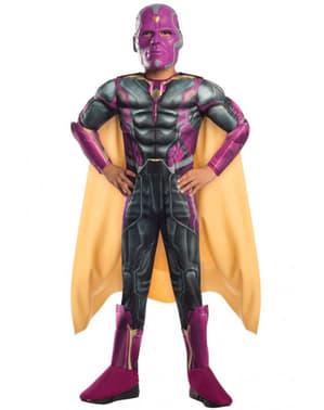 Strój Vision The Avengers z mięśniami dla chłopca
