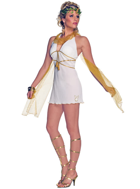 Womens Playboy Olympic Goddess Costume