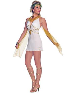 Fato de deusa do Olimpo Playboy para mulher