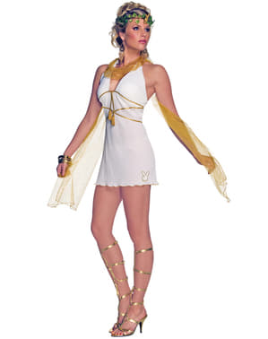 Olympische Göttin Playboy Kostüm für Damen