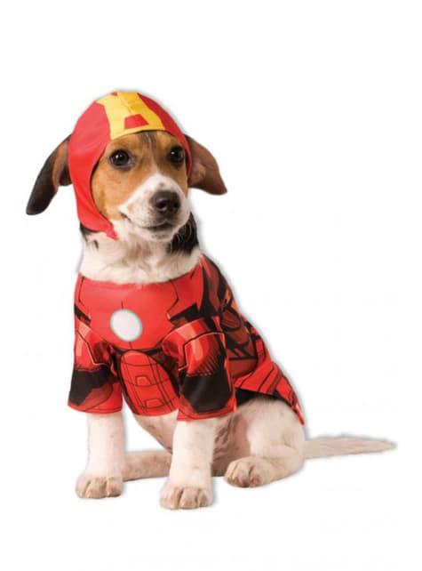 Dogs Iron Man Costume