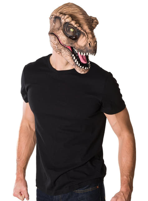Máscara Tiranosaurio Rex Jurassic World para adulto